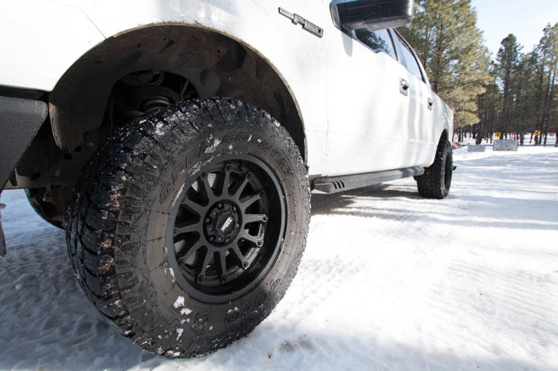2011 F150 with Moto Metal MO971s and Toyo A/T II Tires