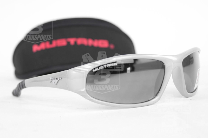 Mustang Competitor Sunglasses- Silver Frame MC2-140SS
