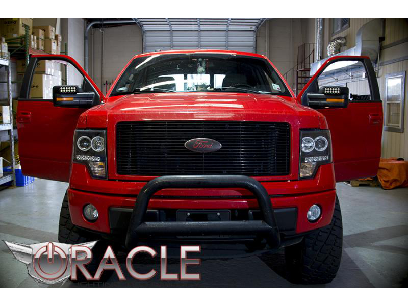 2009 2014 F150 Amp Raptor Oracle Off Road Led Mirror Caps