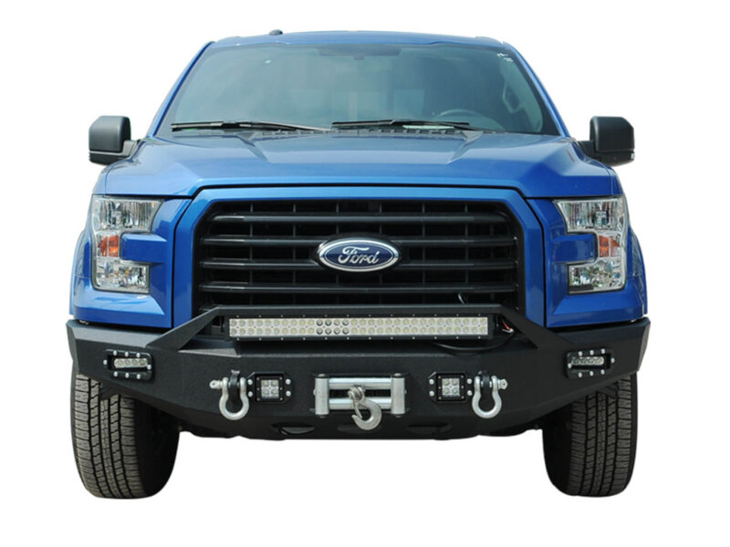 2018 F150 Review >> 2015-2017 F150 Boxed Steel Winch Mount Front Off-Road ...