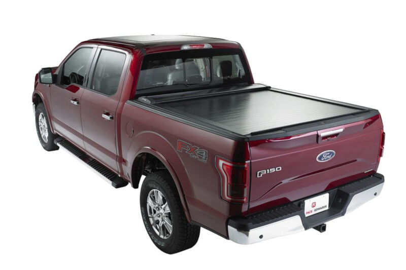2019 2020 Ford Ranger Supercrew 5ft Bed Pace Edwards Switchblade Metal Retractable Tonneau Cover Smfa30a61
