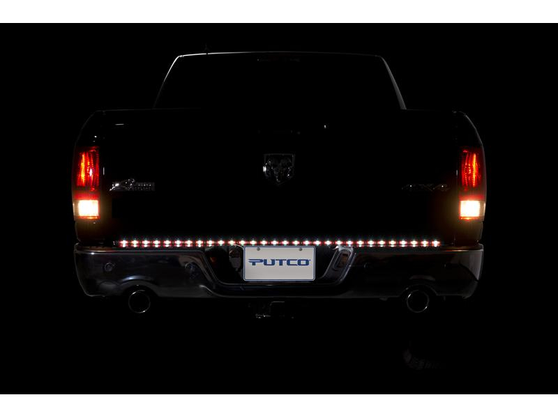 Putco 48 pure led tailgate light bar 90009 48 tap to expand aloadofball Image collections