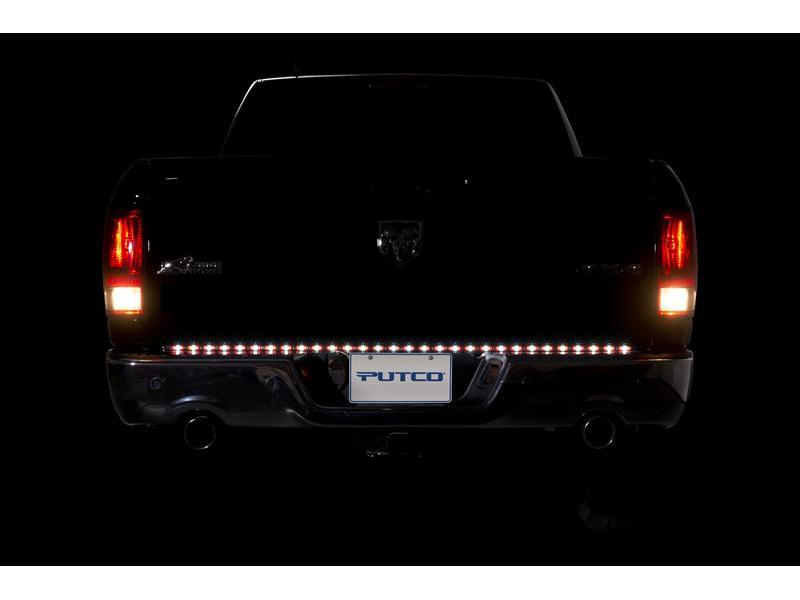 Putco 48 pure led tailgate light bar 90009 48 tap to expand aloadofball Images