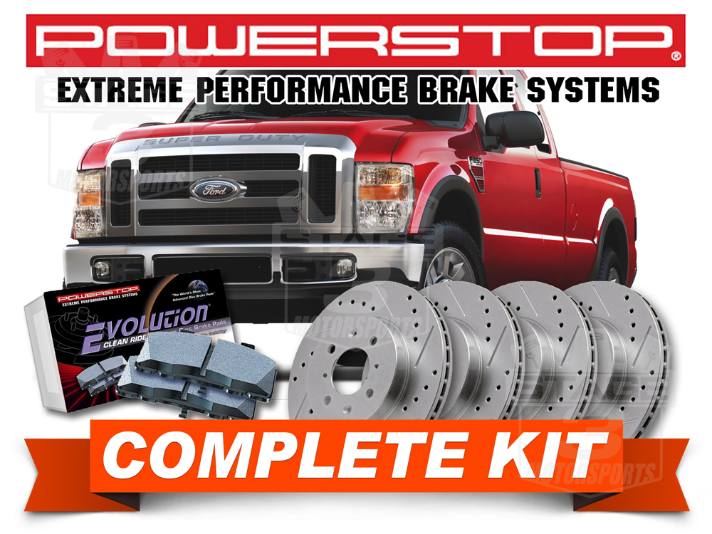 20082010 F250 64l Performance Parts Accessories. 64l Super Duty Powerstop Brake Kit. Ford. 2008 Ford F 250 Tailgate Parts Diagram At Scoala.co