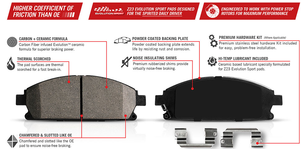 Power Stop Brake Pad Bedding