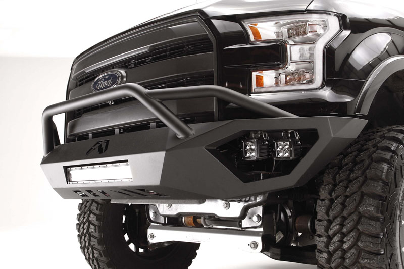 2015 F150 Fab Fours Vengeance Front Bumper