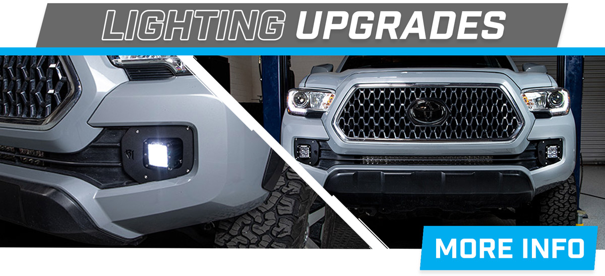 Stage 3's 2018 Toyota Tacoma TRD Project Truck's Lighting Upgrades