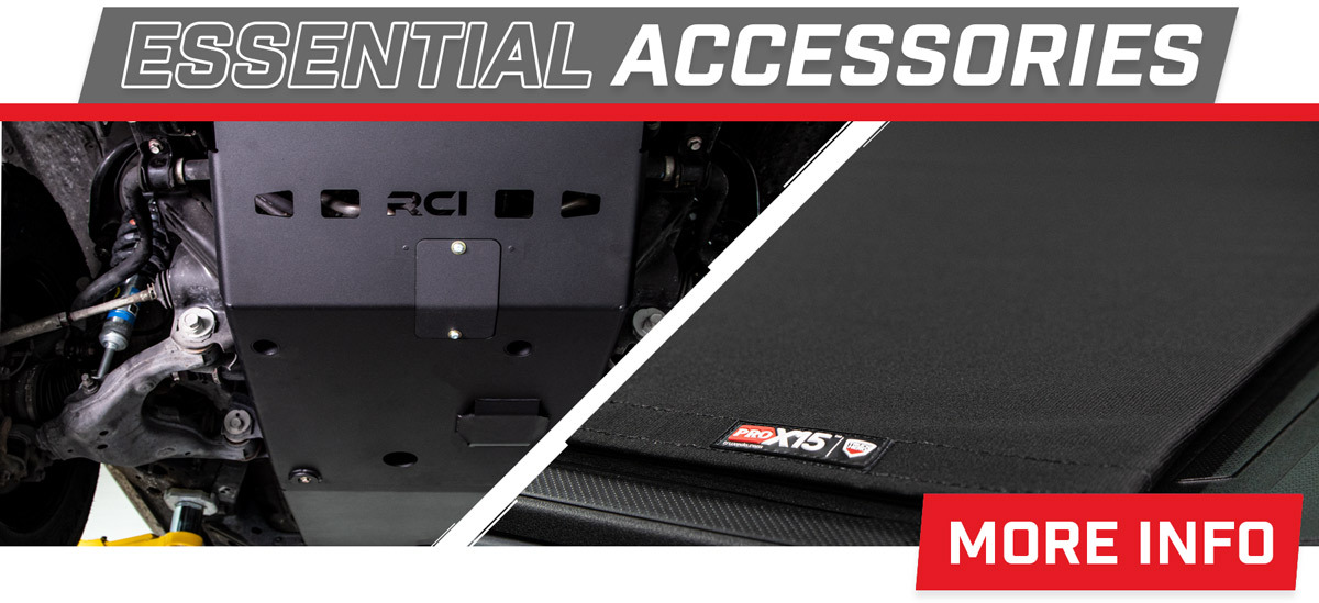 Stage 3's 2018 Toyota Tacoma SR Essential Accessories