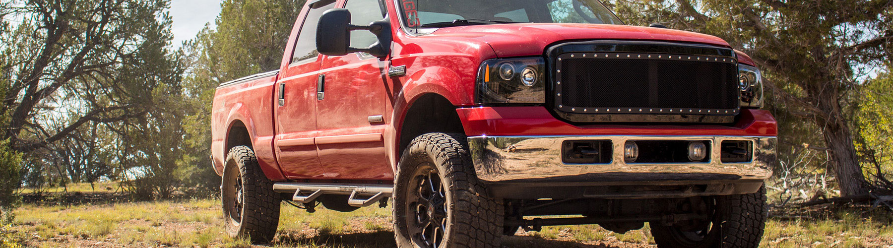 Stage 3\'s 2006 F250 6.0L Big Red Project Truck