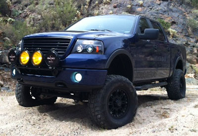 Stage 3's 2007 F150 FX4 Project Truck