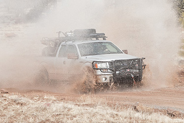 Stage 3's 2014 F150 STX Hunting Truck in Action