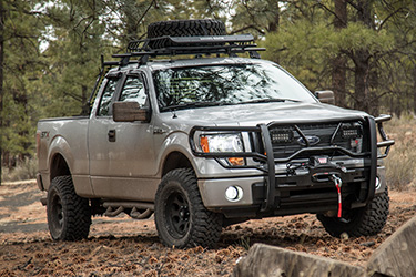 Stage 3's 2014 F150 STX Hunting Suspension Wheels & Tires