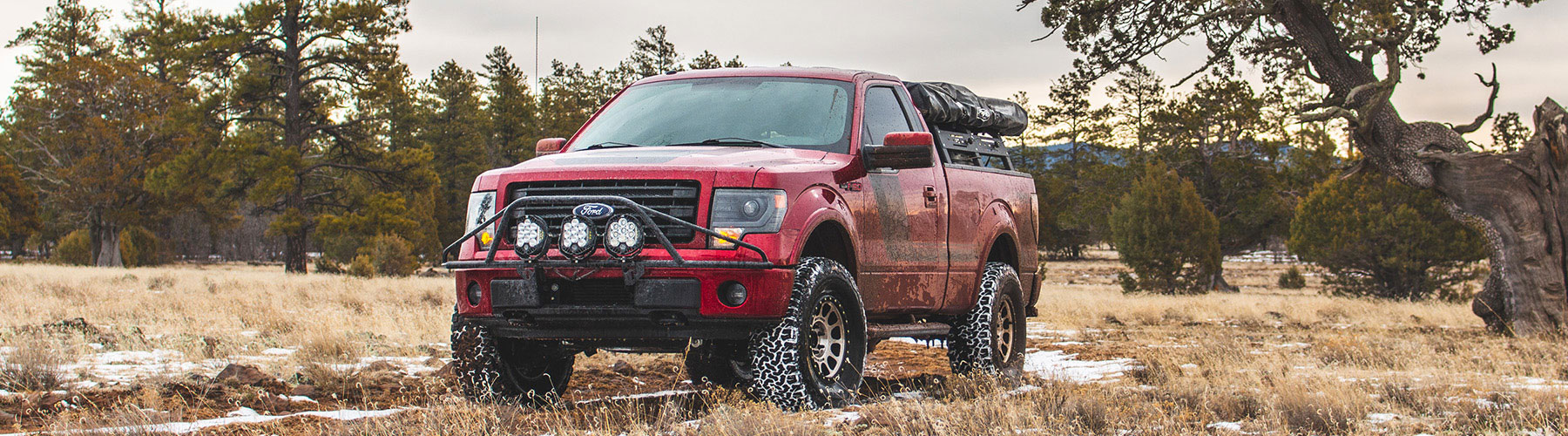 Stage 3's 2014 F150 3 5L EcoBoost Overland Tremor Project Truck