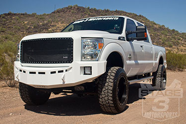 Stage 3's 2014 F250 Front & Rear Bumpers