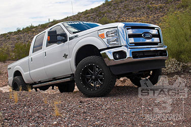 Stage 3's 2014 F250 Leveling Wheels & Tires