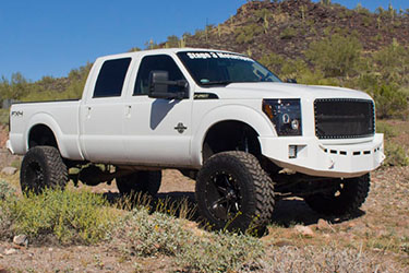 Stage 3's 2014 F250 Lift Kit Wheels & Tires