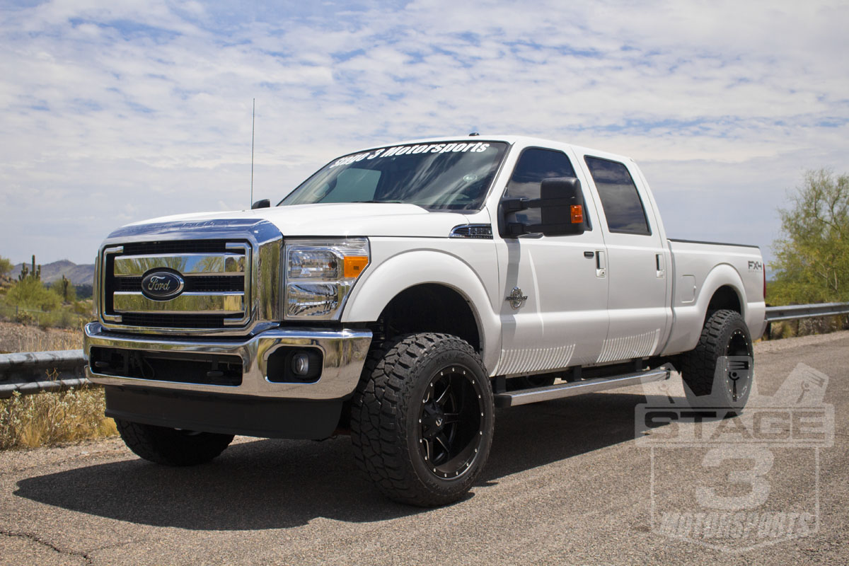 Stage 3 S 2014 F250 6 7l Super Duty Project Leveling