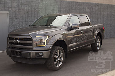Stage 3's 2015 F150 2.7L EcoBoost Lariat Project Accessories