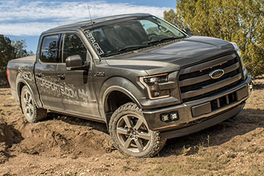 Stage 3's 2015 F150 2.7L EcoBoost Lariat Project Suspension Upgrades