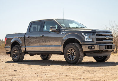 Stage 3's 2015 F150 2.7L EcoBoost Lariat SuperCrew Project Truck