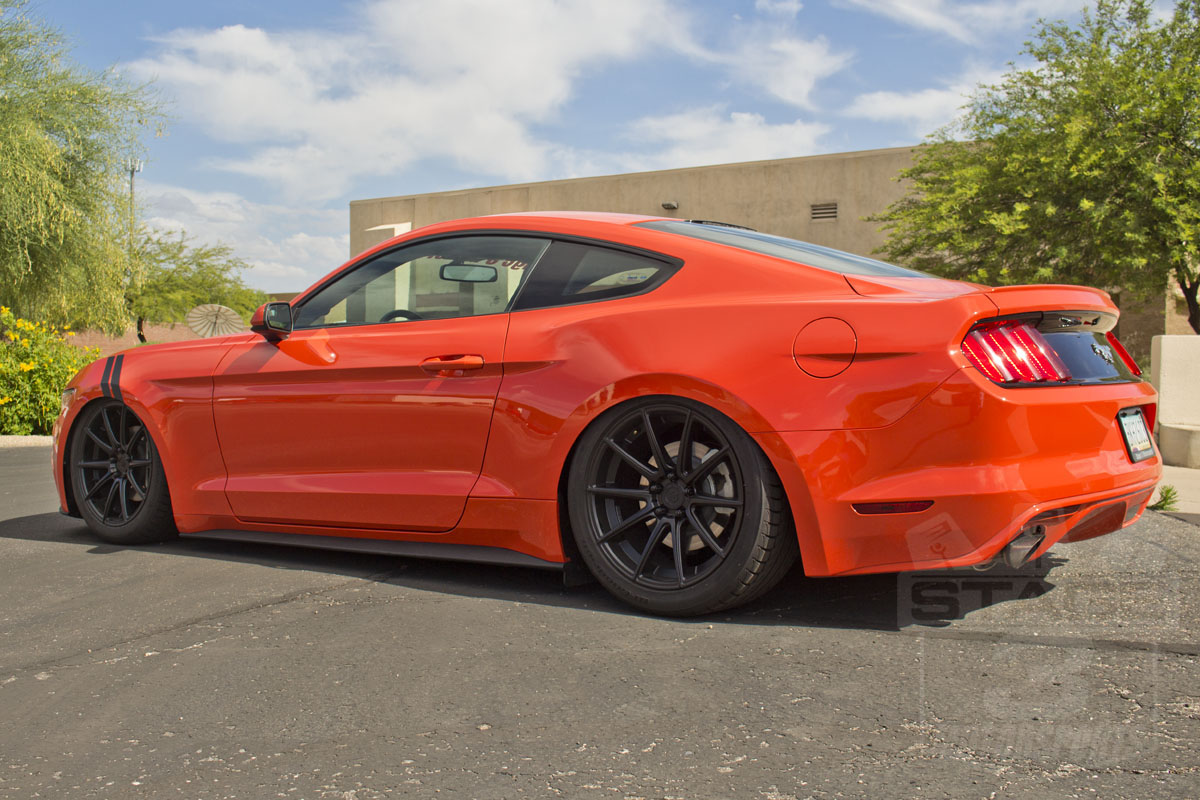 2017 Mustang 2 3l Ecoboost With Air Lift Ride Digital Suspension System