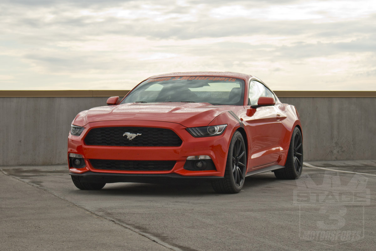 Stage 3's 2015 Mustang EcoBoost Project Car