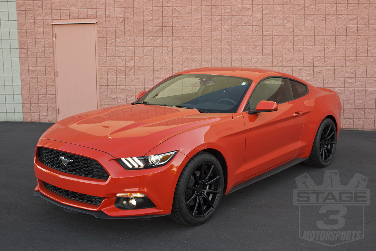 Stage 3's 2015 Mustang 2.3L EcoBoost EcoStang Project Car
