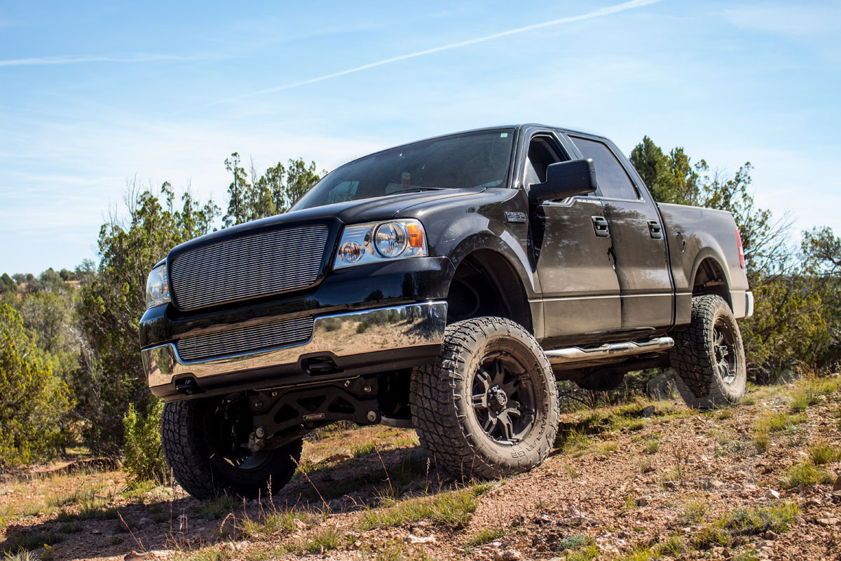 Stage 3's 2005 F150 5.4L 4WD XLT SuperCrew Project Truck