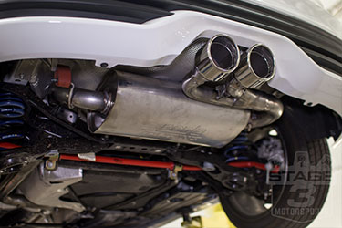 Stage 3's 2016 Focus ST Project Powertrain & Exhaust