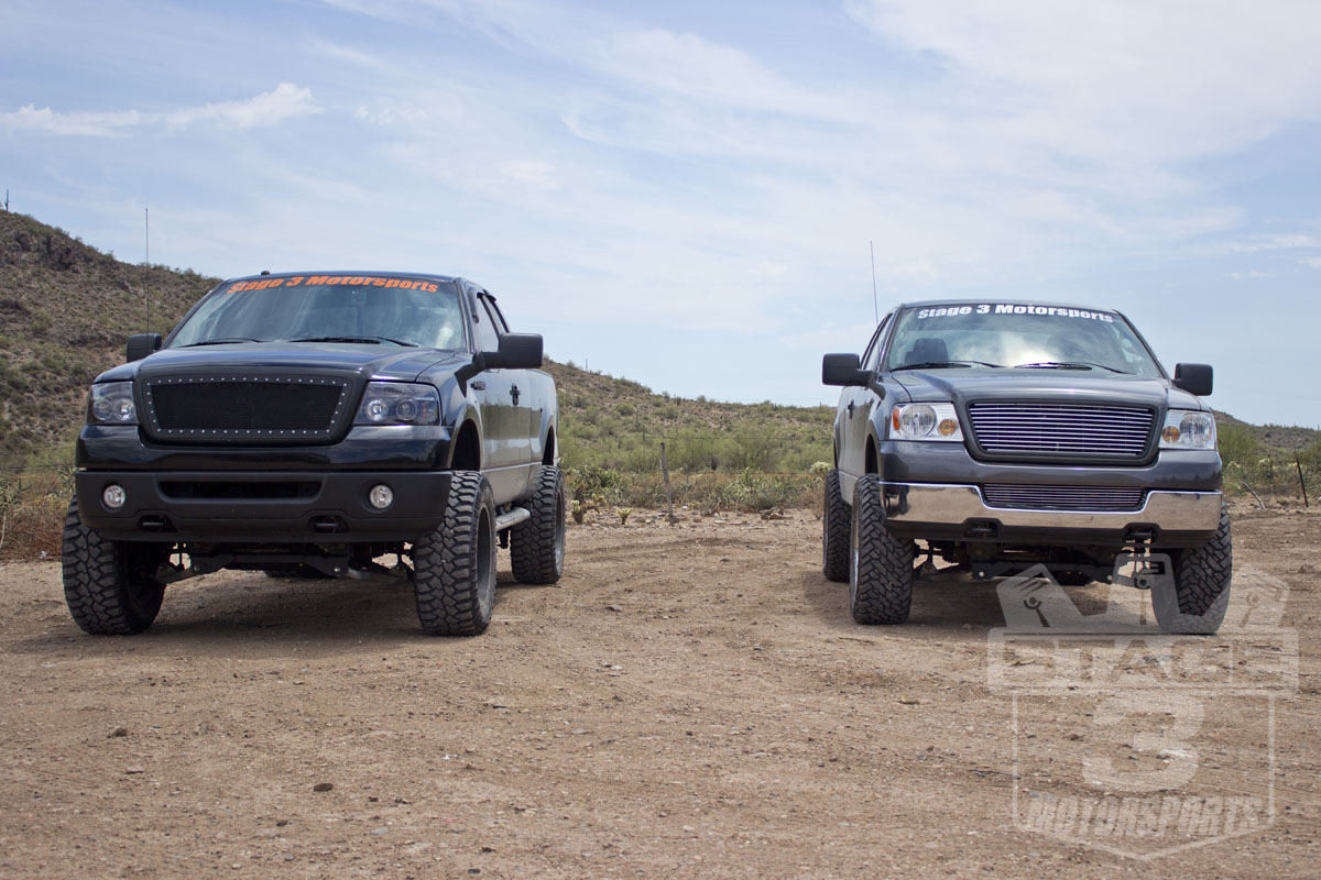 Zone 4-Inch and 6-Inch Lift Kit Comparison