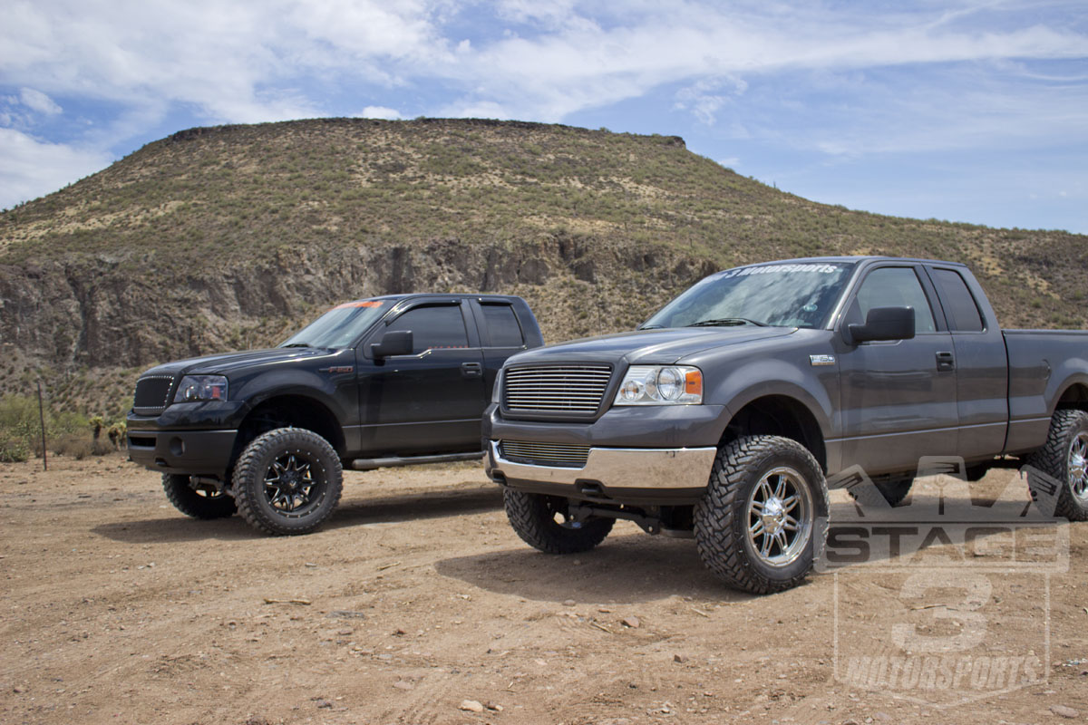 Zone 4 Inch And 6 Inch Lift Kit Comparison