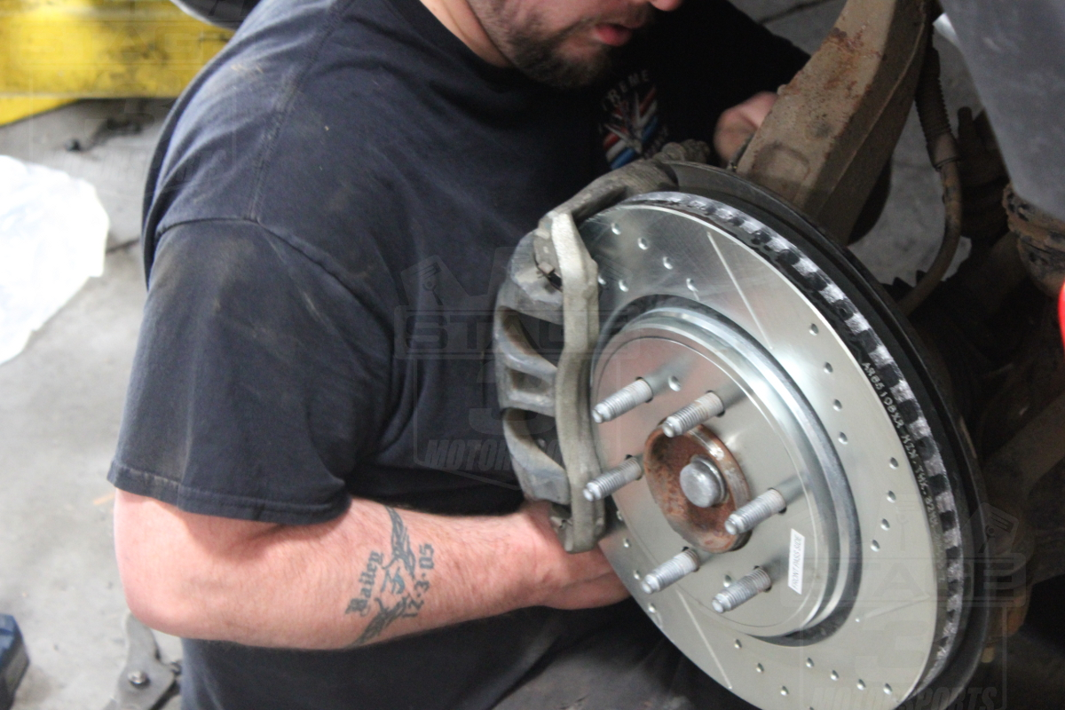 Rear Brake Caliper >> Install Guide: Power Stop Front & Rear Rotors and Pads (K6268) on our 2012 F150 5.0L FX4!