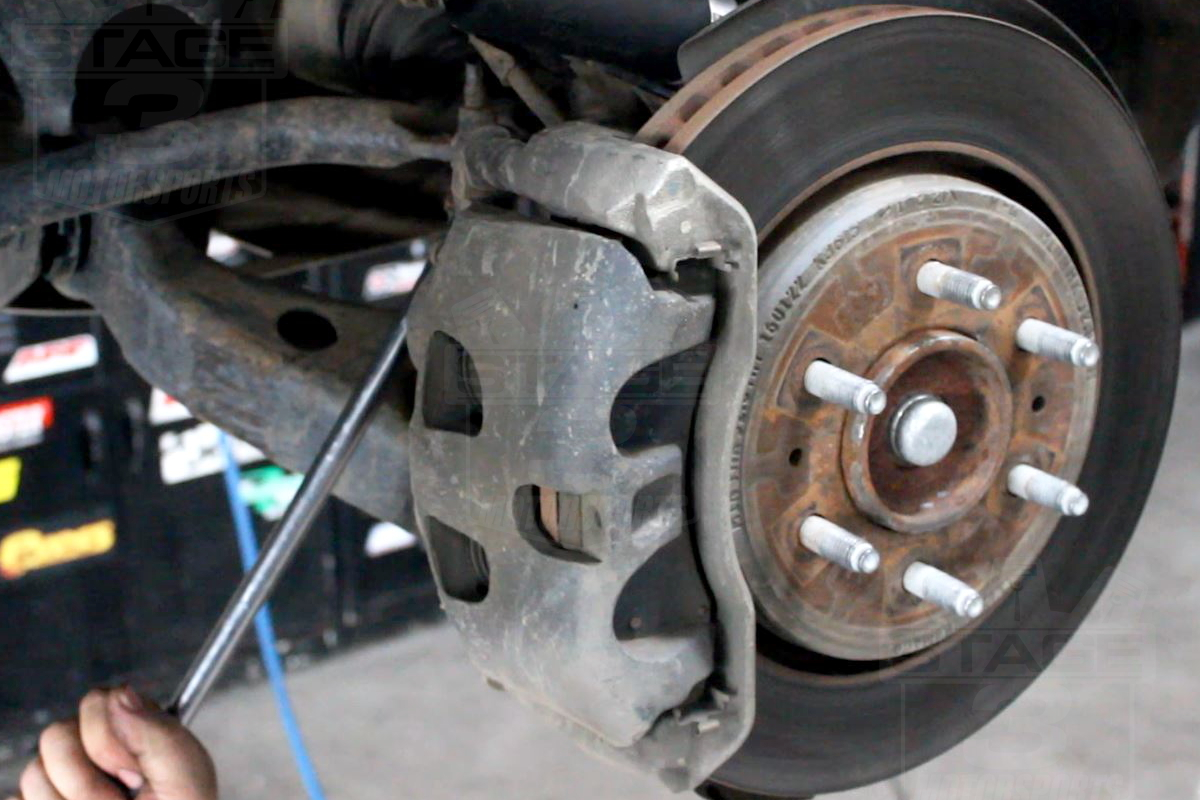 Power Stop Rotors >> Install Guide: Power Stop Front & Rear Rotors and Pads ...
