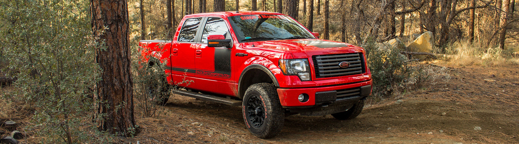 Stage 3's 2012 Red FX4 F150