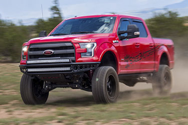 Stage 3's 2015 F150 EcoBoost FX4 Project Truck Lift Kits, Wheels & Tires