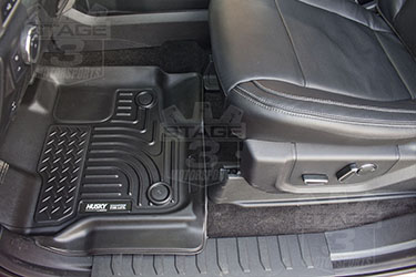 Stage 3's 2015 F150 EcoBoost FX4 Project Truck Build Interior Upgrades