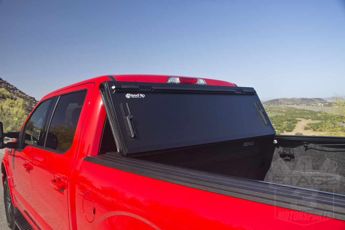 2015 2018 f150 performance parts \u0026 accessories2015 f150 5 5ft bed bakflip g2 tonneau cover installed