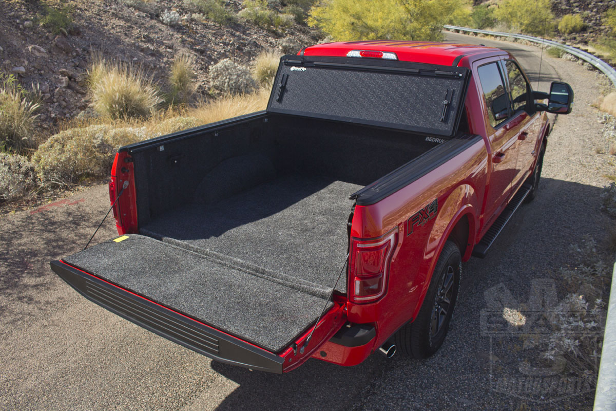 2015 F150 5.5ft Bed BAKFlip G2 Tonneau Cover Installed