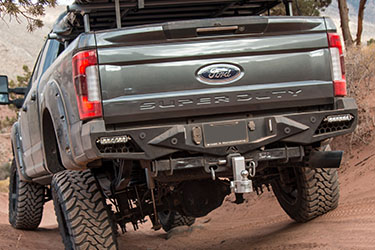Stage 3's 2017 F250 Front & Rear Bumpers
