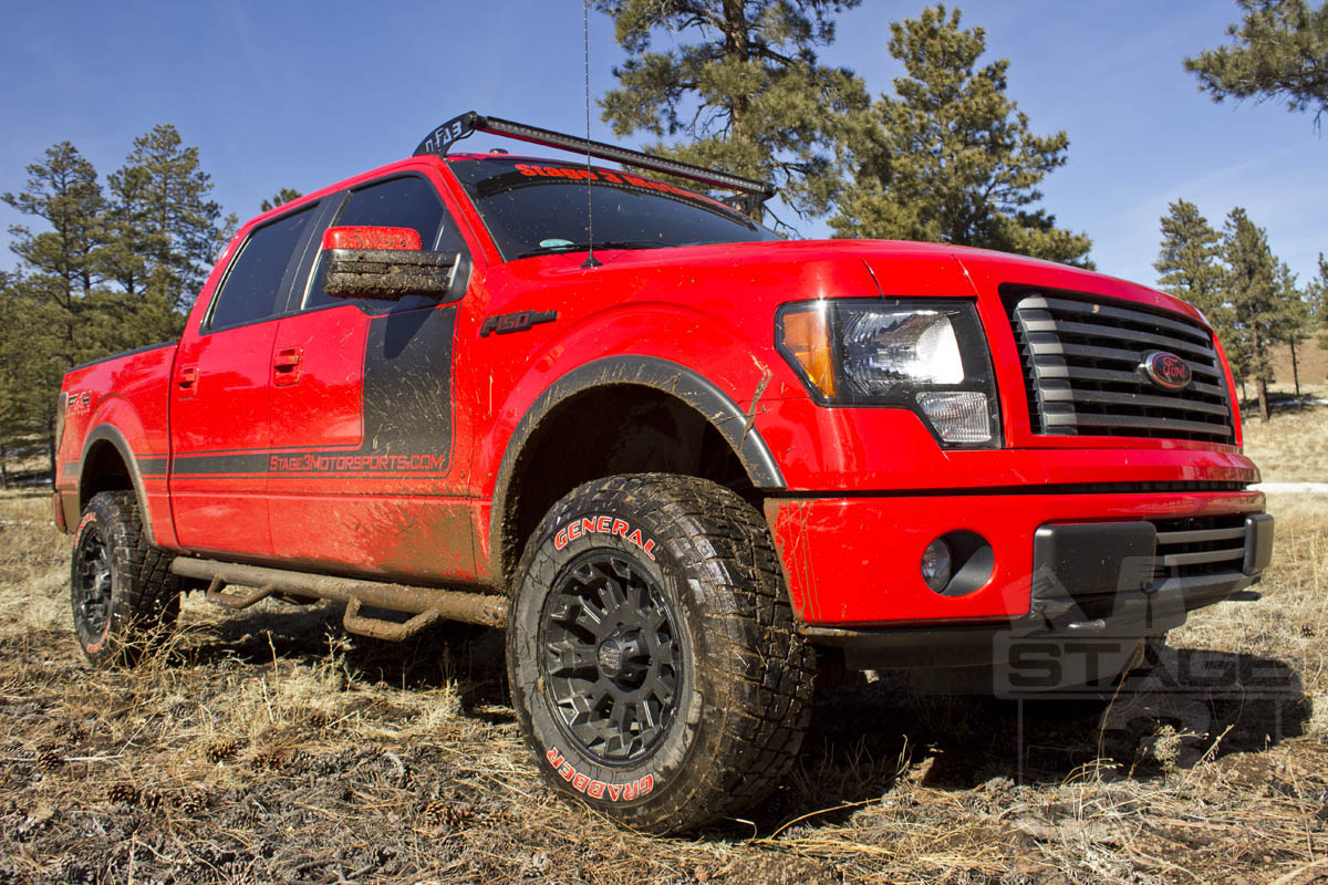 Stage 3's F150 5.0L Project Truck - Rigid E-Series LED Lights