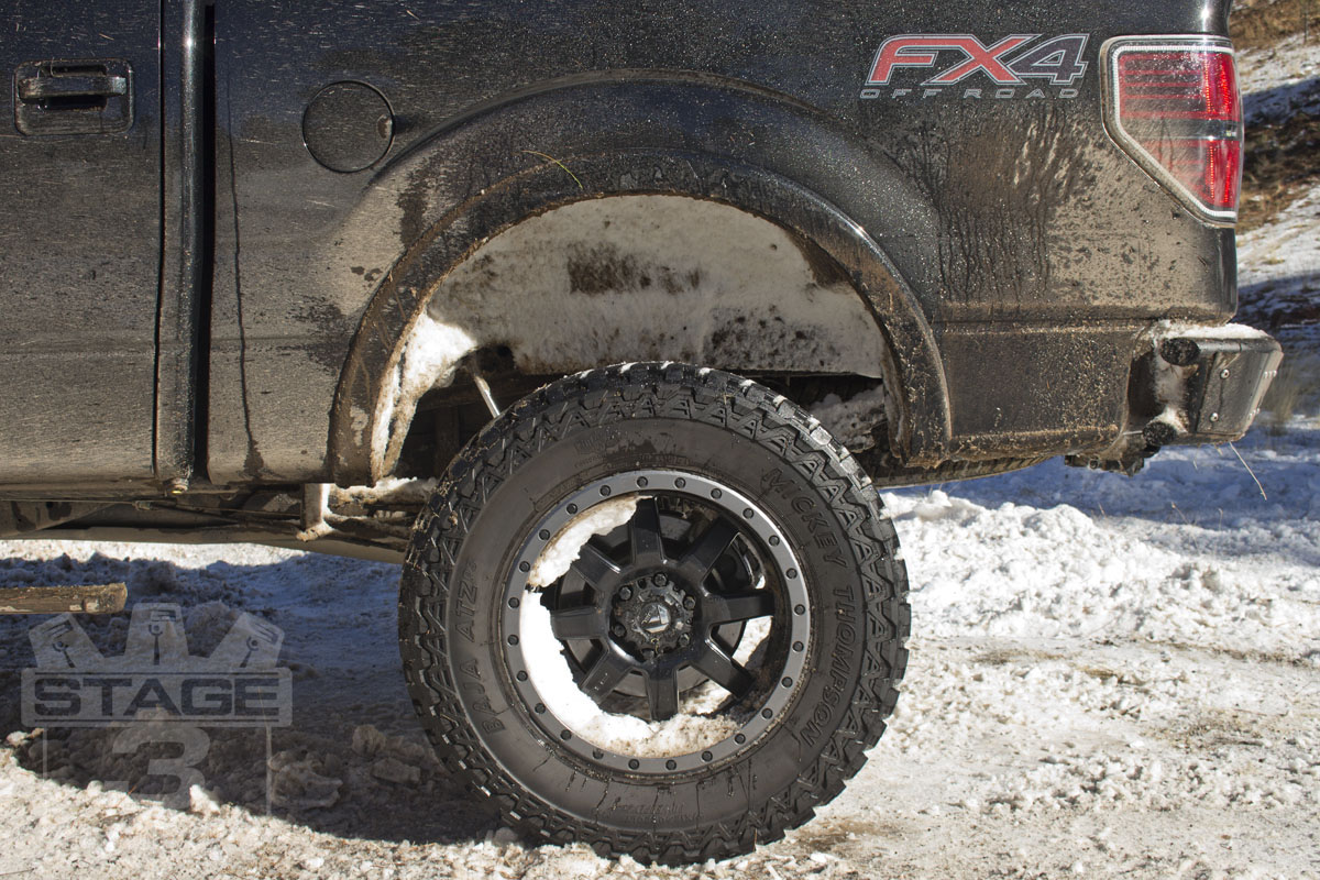 2006 2014 F150 Husky Rear Wheel Well Guards Pair 79101