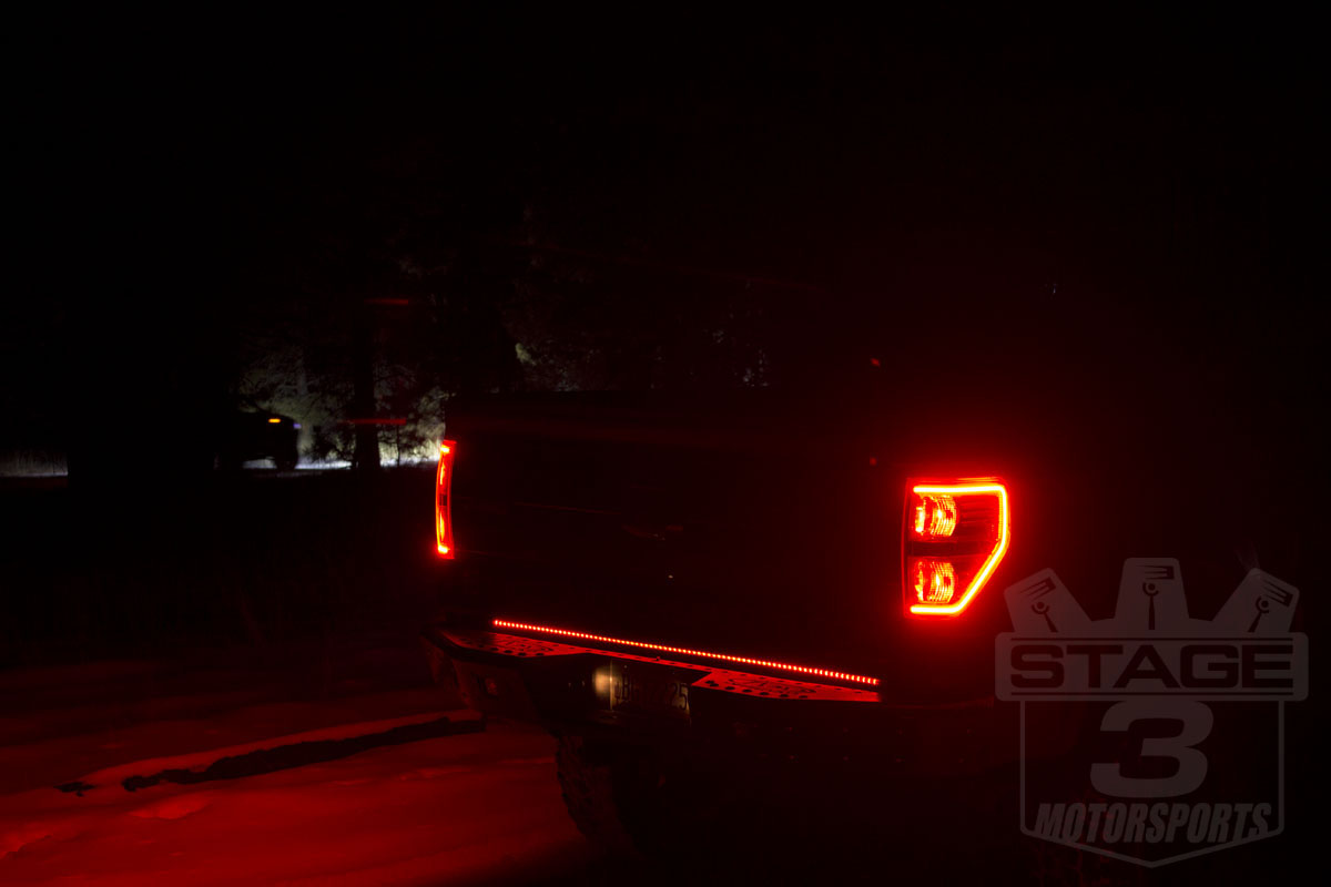 Recon 60 Quot Xtreme Scanning Tailgate Led Light Bar 26416x