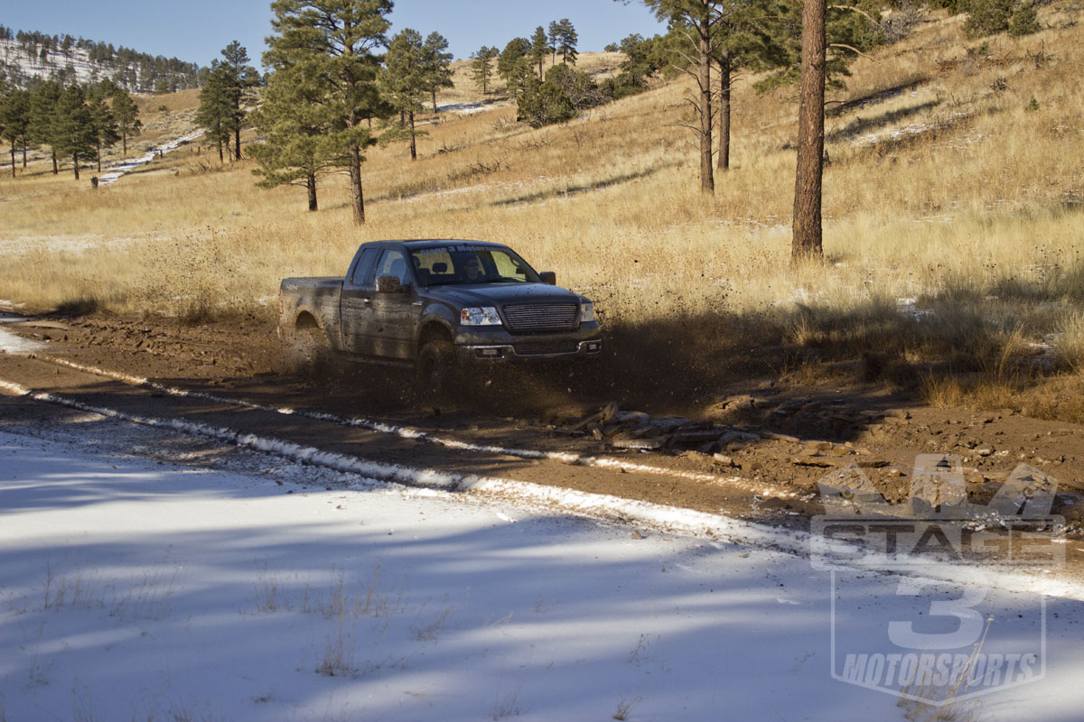 Stage 3's 2005 F150 XLT in Flagstaff 2015