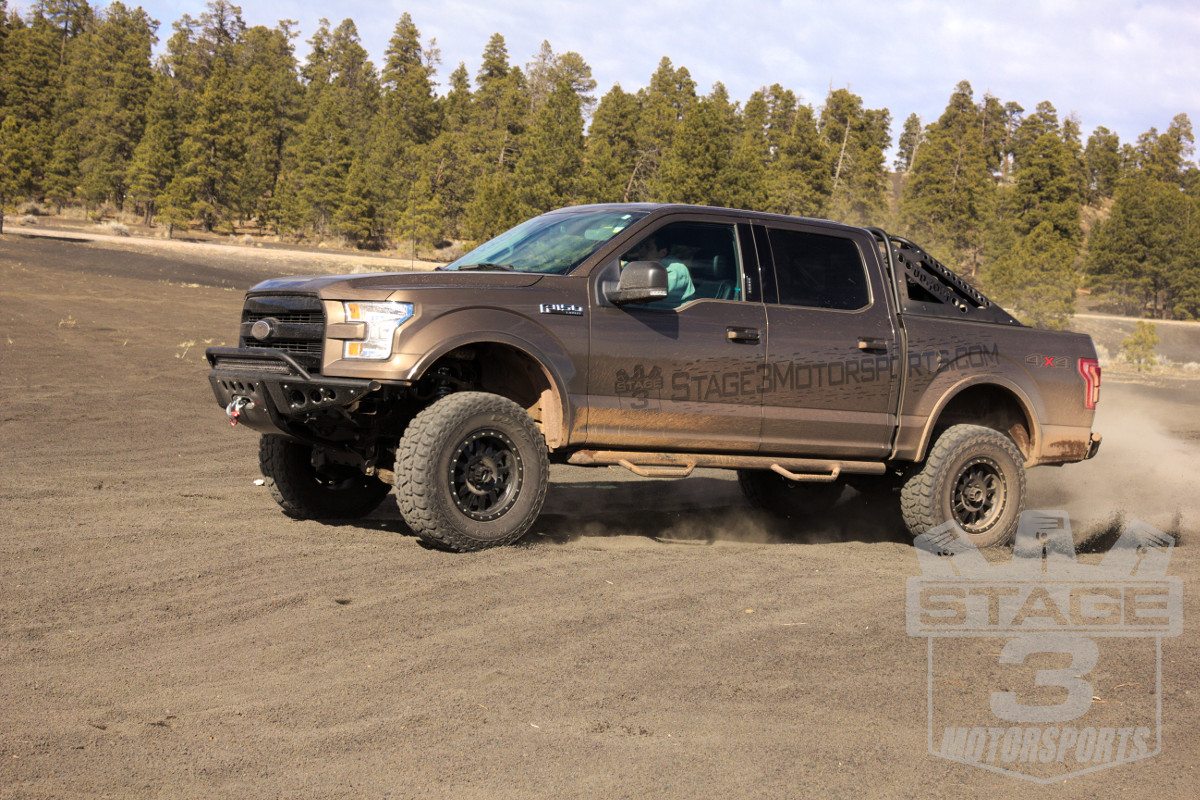 2015 f150 5 0l with method double standard wheels and mickey thompson baja atz p3s