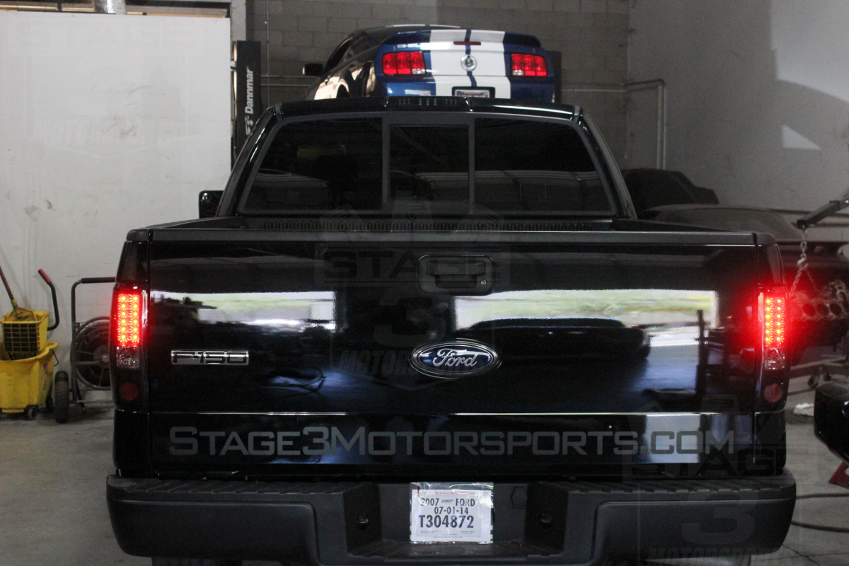 2004 2008 F150 Recon Led Tail Lights Smoked