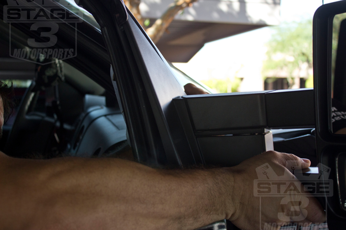 Install Guide 2007 2014 F150 Tow Mirrors With Puddle Lights On Our Ford Wiring Harness Connectors Power Mirros Heated And Turnsignel