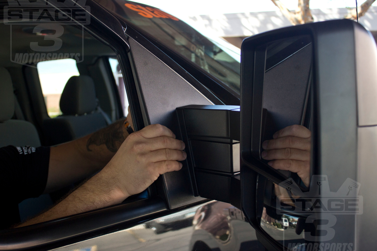 2007-2014 F150 Tow Mirrors with Puddle Lights Install
