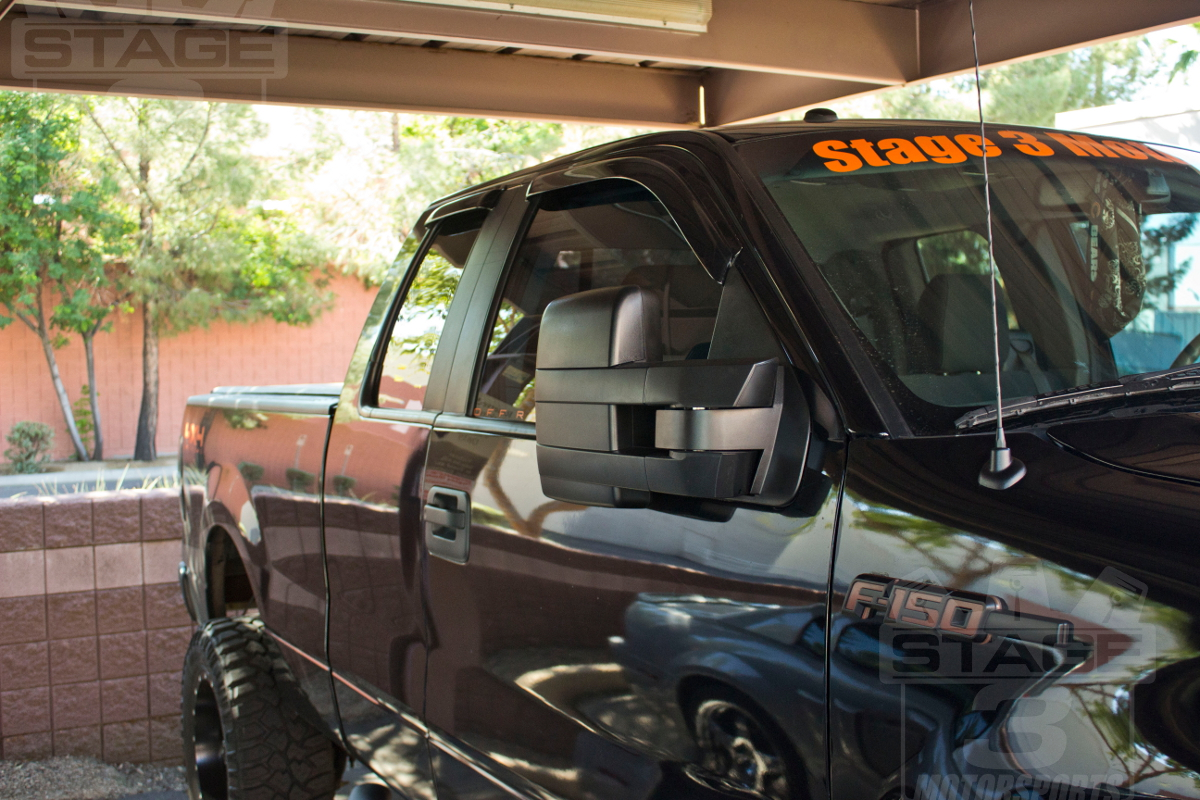 Install Guide 2007 2014 F150 Tow Mirrors With Puddle Lights On Our Lighted Heated Mirror Wiring Diagram