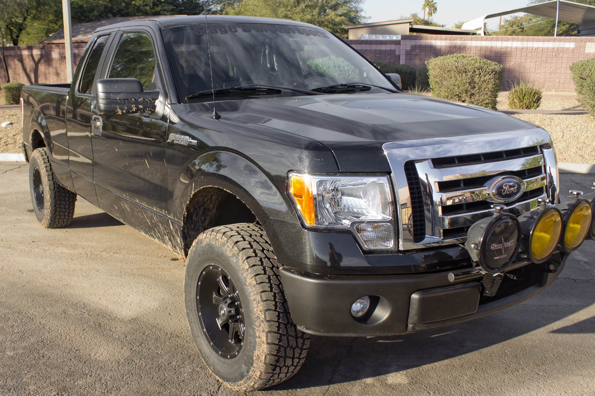 Stage 3's 2012 F150 3.7L 2WD Project Truck