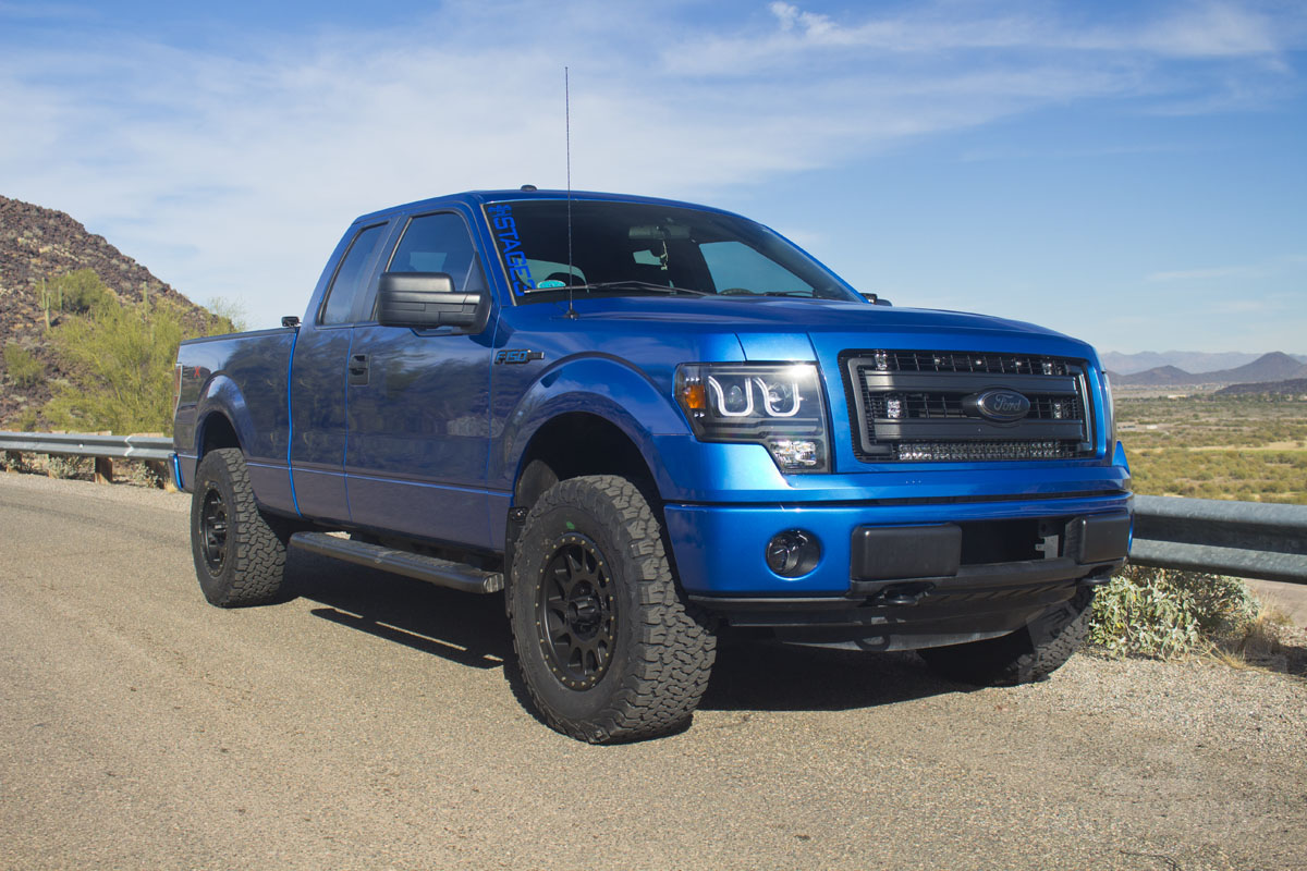 18x9 Method NV wheels on a 2013 F150 with 33-inch tires